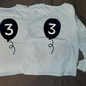 3rd Third Birthday Shirt